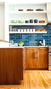 white kitchen backsplash tile tiles blue subway tile backsplash kitchen black wooden cabinet