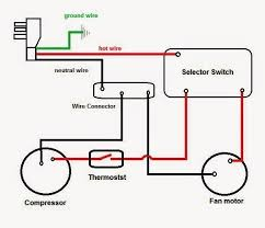 home ac compressor wiring diagram wiring diagram and schematic