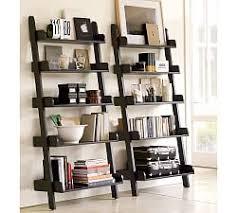 Black Wall Bookshelf Ledges U0026 Shelves Pottery Barn