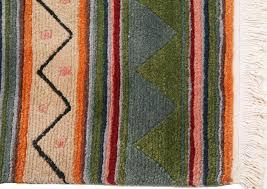 Modern Tibetan Rugs Contemporary Modern Green Indo Nepali Tibetan Rug 60 Knots 5 7