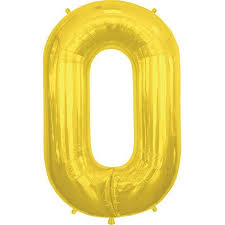 balloon letters gold letter o 34 inch foil balloon