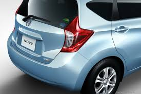 nissan note interior trunk new nissan note global compact car first photos and videos