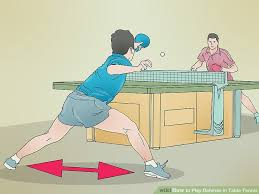 how to play defense in table tennis 10 steps with pictures