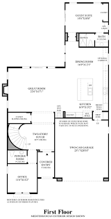 Canterbury Floor Plan by The Knolls At Tassajara Hills The Canterbury Home Design