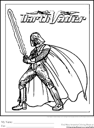 Darth Vader Coloring Pages Ngbasic Com Darth Vader Coloring Pages