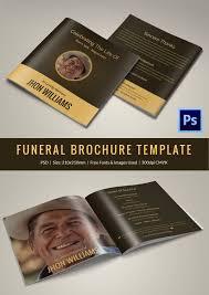 sle funeral programs obit template 21 word psd format free premium