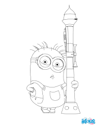 despicable 2 coloring pages cute despicable minion coloring