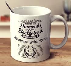 pembroke welsh corgi sketch mug