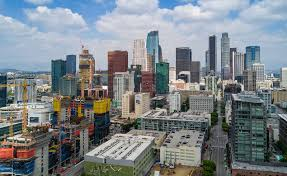Map Of Los Angeles And Surrounding Areas by Los Angeles Construction News Curbed La