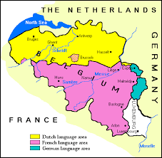 belgium language map flemish the language as spoken in flanders one of the two