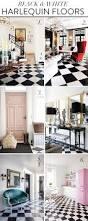 loving black and white harlequin floors summer thornton design