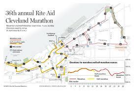 Boston Marathon Course Map by Boston Sentiments Run Alongside Sunday U0027s Cleveland Marathon