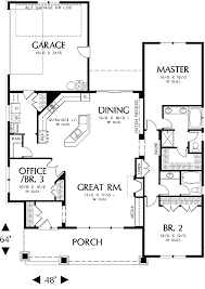 great room floor plans glastonburg 5258 3 bedrooms and 2 5 baths the house designers