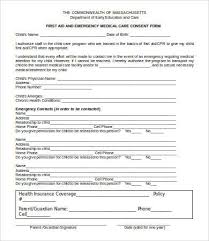 permission form template printable sample release and waiver of