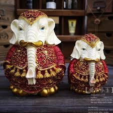 indian resin handicrafts modern home furnishing animal ornaments