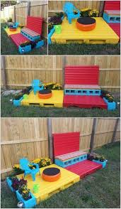 Build A Toy Box From Pallets by Best 25 Pallet Kids Ideas On Pinterest Kids Gardening Set