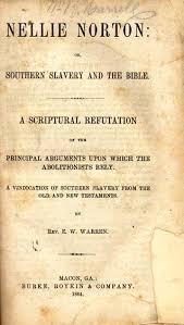 ebenezer w warren b 1820 nellie norton or southern slavery