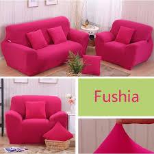 canape fushia fushia 1 housse de canapé 3 places 1 housse de canapé 2 places 1