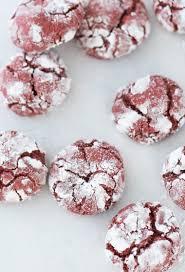 red velvet crinkle cookies blahnik baker
