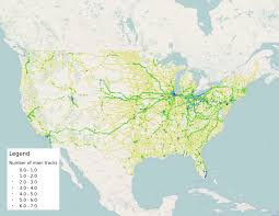 07 World Map by The Single Tracked World Of American Railroading Streets Mn