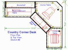Wood Corner Desk Plans by Pdf Plans Corner Desk Construction Plans Download Computerized