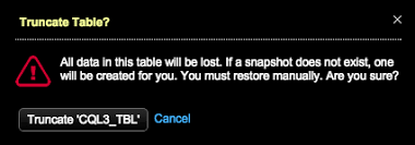 Delete Data From Table Managing A Table Opscenter 6 0