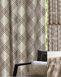 Brown Patterned Curtains Patterned Brown Color Best Noise Reduction Curtains