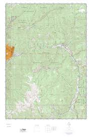 Taos New Mexico Map by Mytopo Red River New Mexico Usgs Quad Topo Map