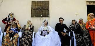 mariage kurde à lèvres danse et mixité premier mariage à raqa post ei