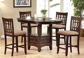 rooms to go kitchen furniture dining room shop for a gran 5 pc pedestal diningroom at rooms