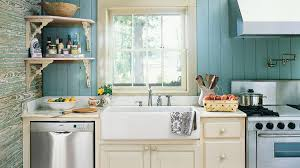 Kitchen With Farm Sink - farmhouse sinks with vintage charm southern living
