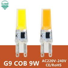 Spotlight Chandelier G9 Led L Bulb 220v 9w Cob Smd Led Lighting Lights Replace