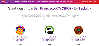 virgin america 2 day sale and alaska airlines deals hungry for