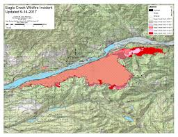 a map of oregon fires eagle creek corbett oregon
