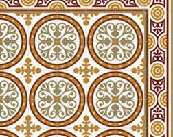 pvc vinyl mat tiles pattern decorative linoleum rug color