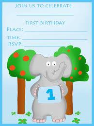 First Year Invitation Birthday Cards 16 Best First Birthday Invites U2013 Printable Sample Templates