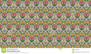 Papier Peint Art Nouveau Papier Peint Rose D U0027art Nouveau Illustration Stock Image 50914853