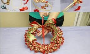 Where To Buy Ribbon Candy Candy Christmas Wreath Archives Find Fun Art Projects To Do At