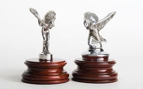 spirit of ecstasy emblem stolen from garaged rolls royce car