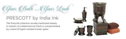 amazon com zenna home india ink prescott toothbrush holder