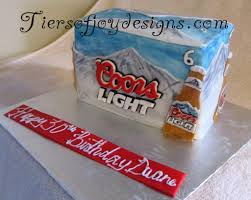 case of coors light coors light 6 pack cake awesome cakes pinterest coors light