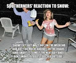 Funny Snow Meme - funny southerners reaction to snow viral viral videos