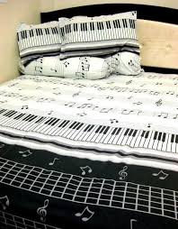 themed bed sheets 46 best piano bedroom images on bedroom