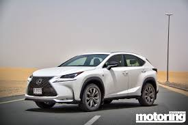 lexus cars 2015 2015 lexus nx 200t video reviewmotoring middle east car news