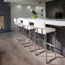 Breakfast Bar Stools Set Of 4 Luxury White Kitchen Breakfast Bar Stool Seat Barstool