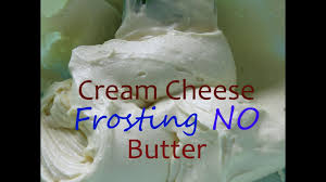 cream cheese frosting with no butter youtube