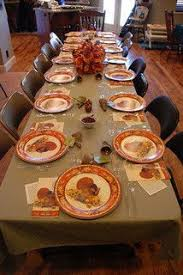 hosting thanksgiving dinner small space dinner in garage