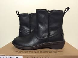 womens designer boots australia ugg australia neevah s black leather low heel boots