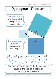 Area Of Compound Shapes Worksheet Ks4 Trigonometry U2013 Sohcahtoa Teachit Maths