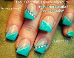 lacquerstylecom turquoise stone nails tutorial 25 best ideas